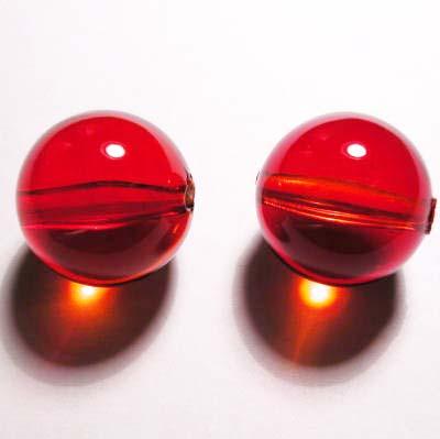 acryl rond rood 17 mm