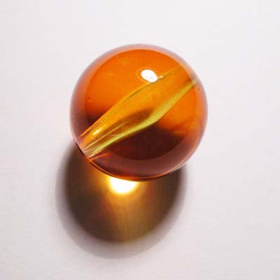 acryl rond geel 20 mm
