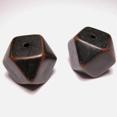 facet donkerbruin 17 mm