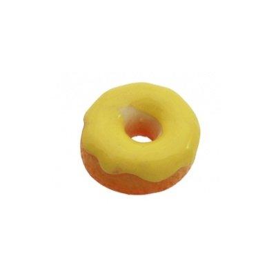 cabochon donut geel 13mm