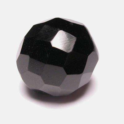 facet zwart 16 mm