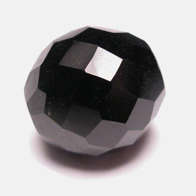 facet zwart 18 mm