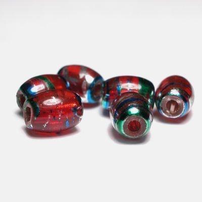 olijf met streep rood 5x7 mm