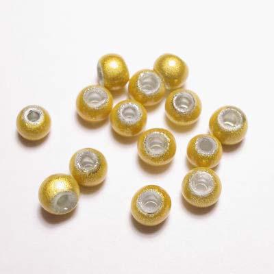 miracle bead geel 4 mm