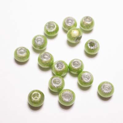 miracle bead lichtgroen 4 mm
