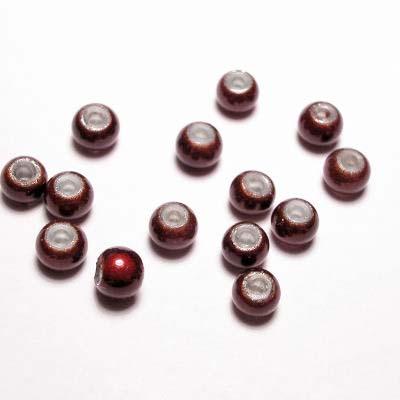 miracle bead bruin 4 mm