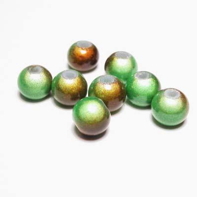 miracle bead groenbruin 8 mm