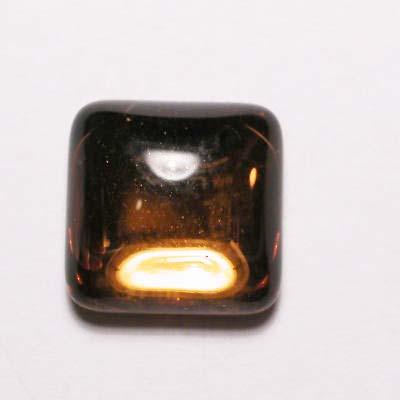 plaksteen spiegel bruin 10x10 mm