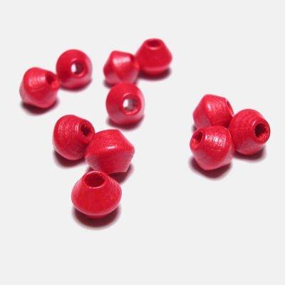 kraal konisch rood 6 mm