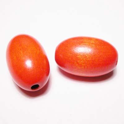 ovaal oranje 16x24 mm