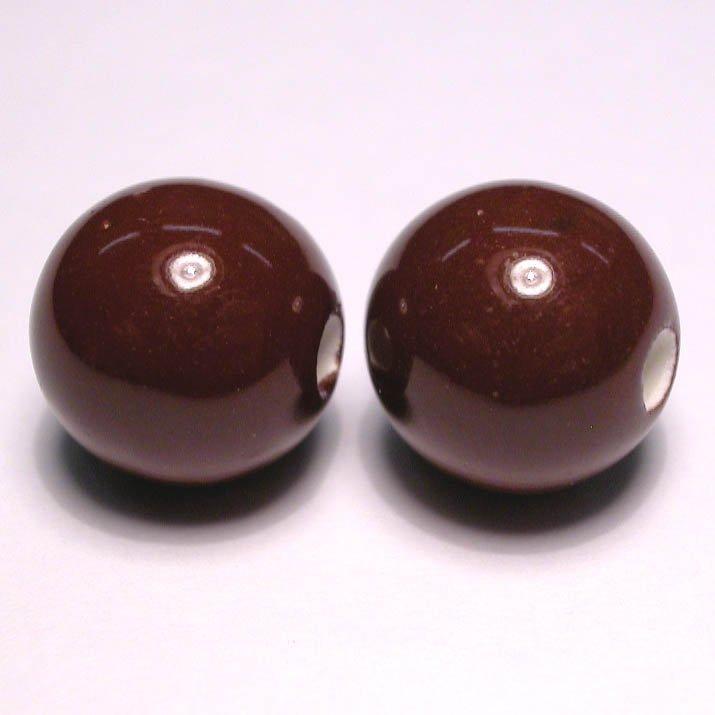keramiek bruin 12 mm