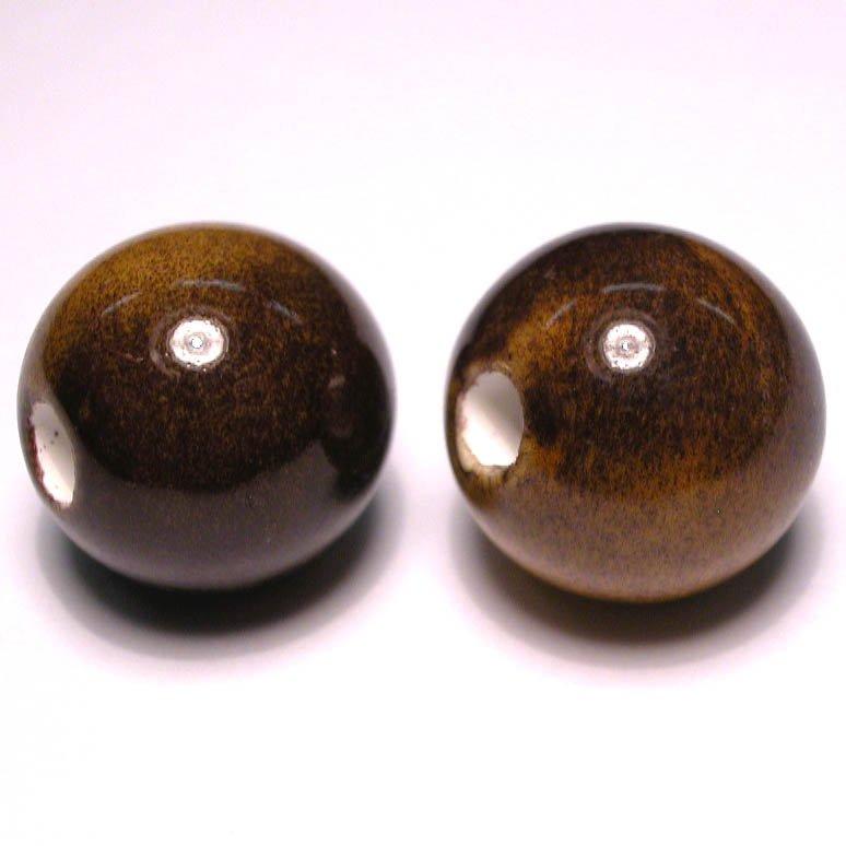 keramiek lichtbruin 16 mm