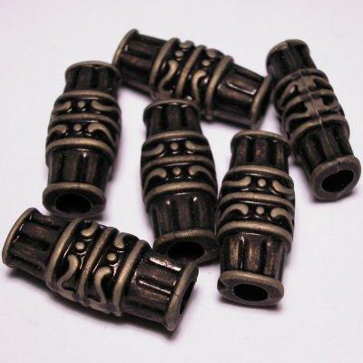 ethnic beads 11x25 mm