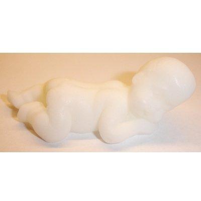 baby liggend wit 64x25x24 mm
