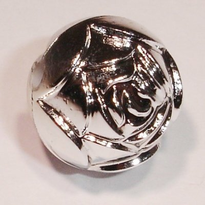 metal look rozenknop 12 mm