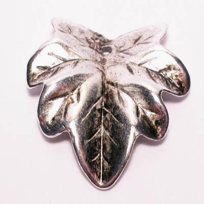 metal look hanger blad 25x27 mm