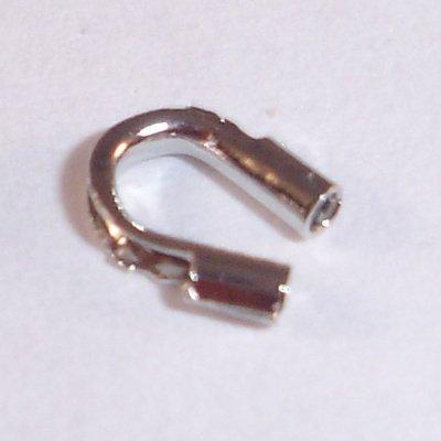 metalen wire gardian 5x4 mm nikkelkleur