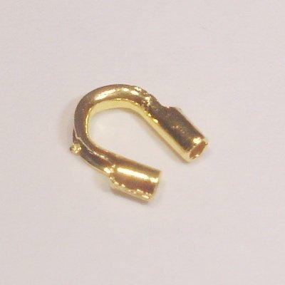 metalen wire gardian 5x4 mm goud