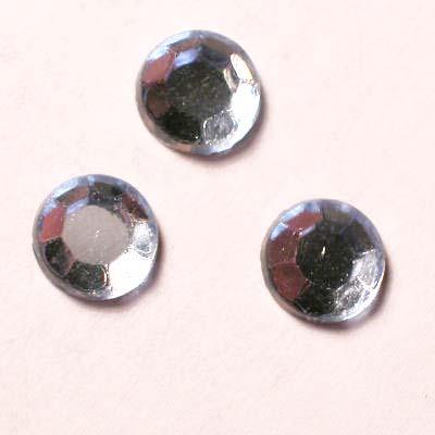 strass plaksteen kristal l. sapphir 5 mm