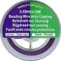 draad acculon paars kleurig 0,45 mm