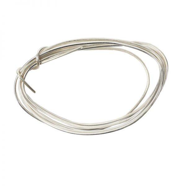 stering verzilverd draad 8 gr. 1,0 mm