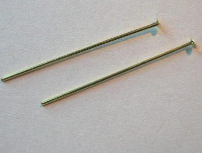nietstift goud 26x0,6 mm