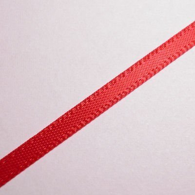 satijnlint 3 mm rood