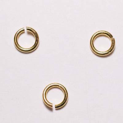 ring rond goud 5 mm, 0,8 mm dik
