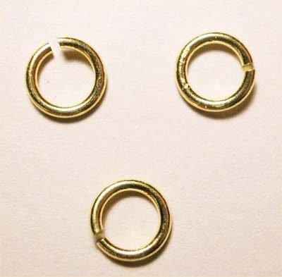 ring rond goud 6mm, 1 mm dik
