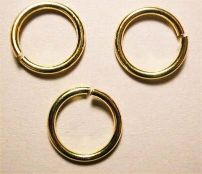 ring rond goud 7 mm, 1 mm dik