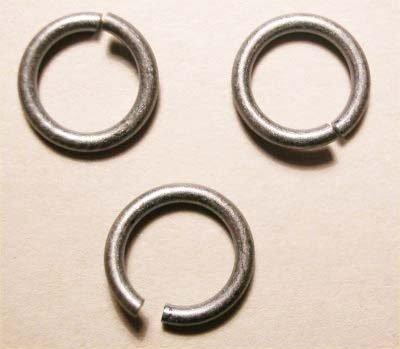 ring rond oudzilver 8,2 mm, 1,2 mm dik