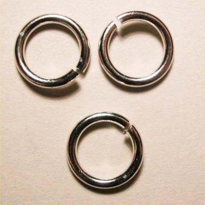 ring rond zilver 8,2 mm, 1,2 mm dik