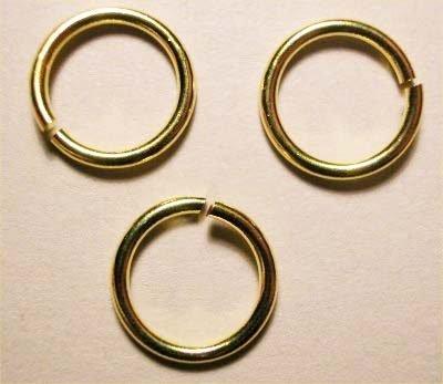 ring rond goud 10 mm, 1,2 mm dik