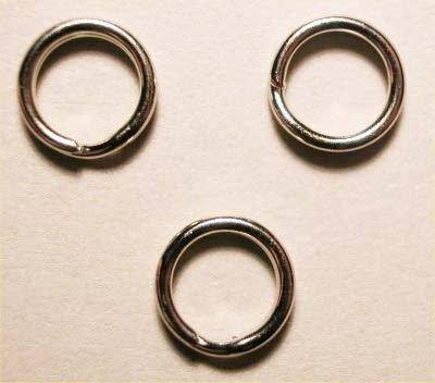 splijtring zilver 5 mm