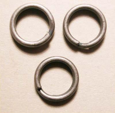 splijtring oudzilver 7 mm