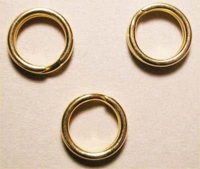 splijtring goud 7 mm