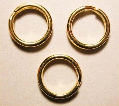 splijtring goud 9 mm