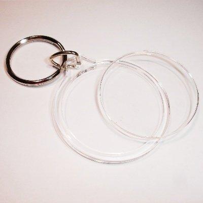 sleutelhanger rond 40 mm