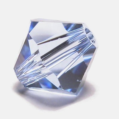 swarovski facet 4mm light sapphire