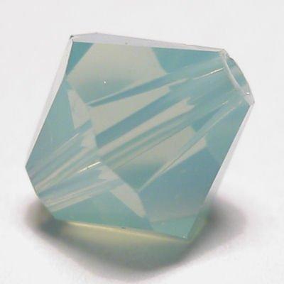 swarovski facet  6mm pacific opal