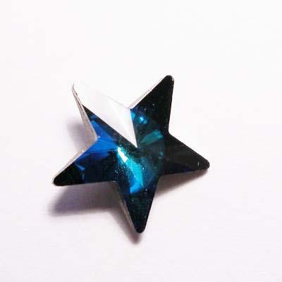 similisteen ster blauw 10 mm
