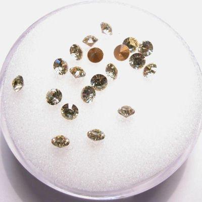 swarovski similisteen rond jonquil 3 mm