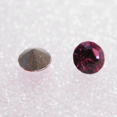 swarovski similisteen rond rose 3 mm