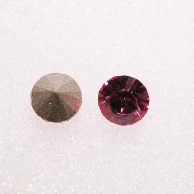swarovski similisteen rond rose 4 mm