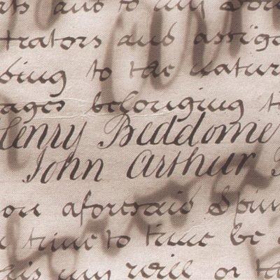 vouwkaart handwriting 10x30,5 cm
