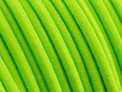 elastisch draad/stiek 3 mm fluor groen