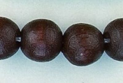 rond bruin 8 mm