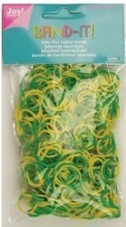 Joy! Band-it! elastiekjes yellow-green