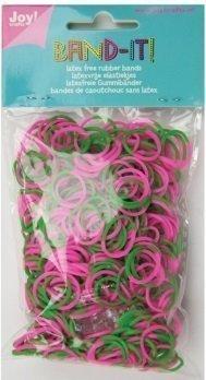 Joy! Band-it! elastiekjes pink-green