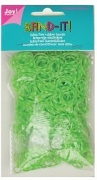 Joy! Band-it! elastiekjes snow white-green